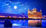 mmhhxx Indian Temple Puzzle Adult Adult Puzzle 1000 Piezas Indian Temple Puzzle Adult Adult Puzzle 75x50cm -999