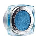 L'Oréal Paris Indefectible Color 24H Fresh Lidschatten, blau