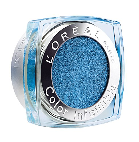 L'Oréal Paris Indefectible Color 24H Fresh Lidschatten, blau