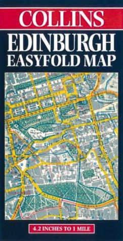 Preisvergleich Produktbild Edinburgh Easyfold Map