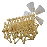 HEYZLASS Mini Strandbeest Model Kit (Wind Power DIY-Beast) , Interesting and Creative Gift for Birthday Holiday