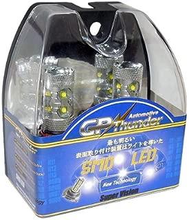 Gp Thunder H7 60W Cree LED High Power Super White Light Bulb for Hyundai Genesie Sonata Veloster Accent on High Beam Daytime Running Lights