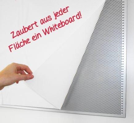 TimeTEX Whiteboard-Folie statisch - 20 m auf Rolle - weiß - 62187