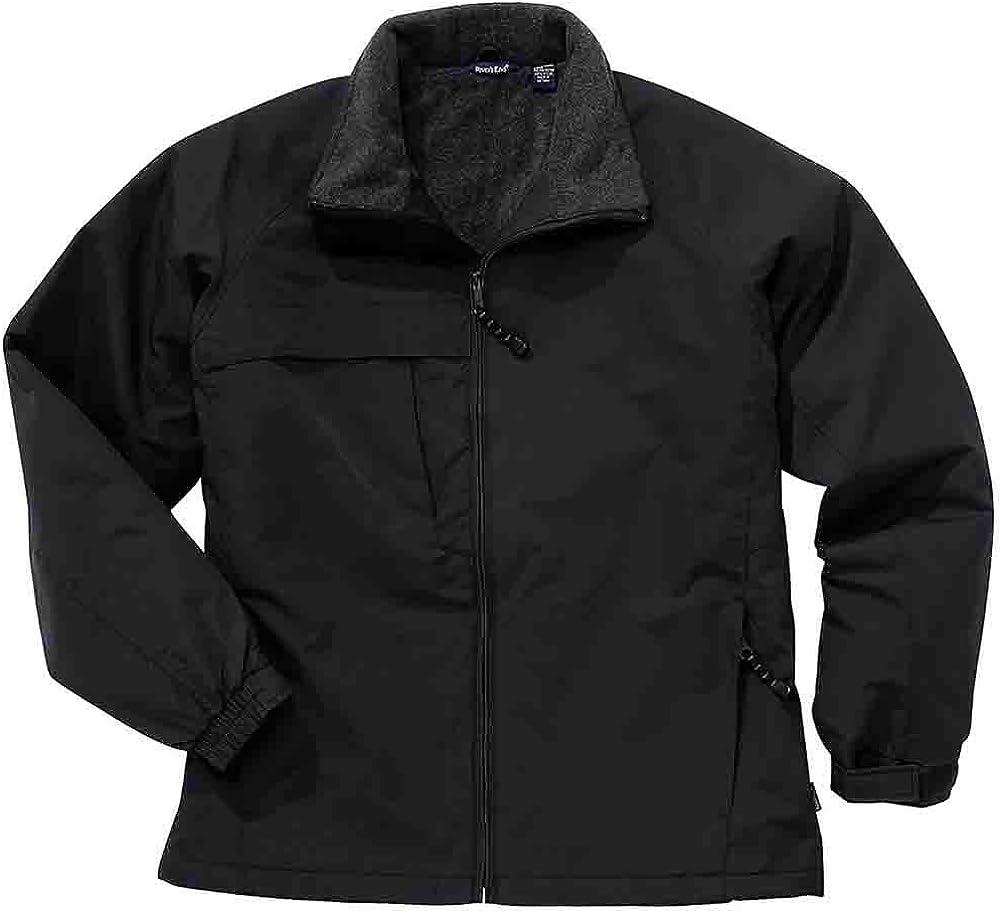 River's End Mens Fleece Lined Hip Length Jacket - Black