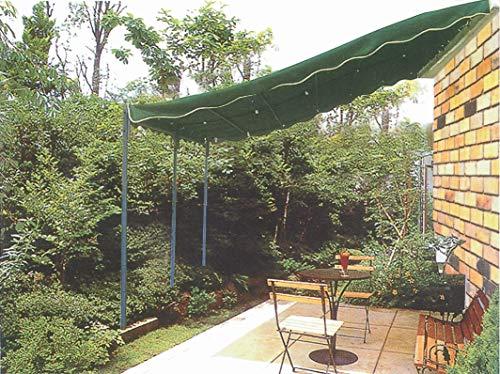 HOMEGARDEN Veranda con Struttura in Acciaio Verniciato 3 x 4 Metri