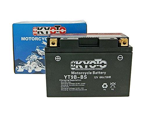 Batteria Kyoto 12V GT9B-BS MF esente da manutenzione - YAMAHA MT-03 660 06