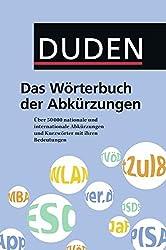 Common German Abbreviations