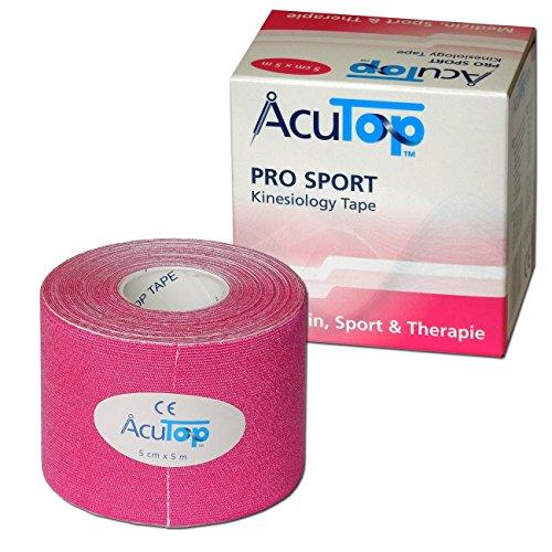 AcuTop PRO SPORT Kinesiology Tape, 5 cm x 5 m, rosa