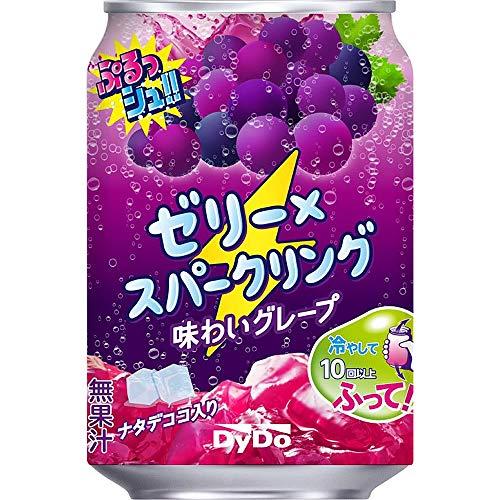 スマートマットライト ダイドードリンコ ぷるっシュ!! ゼリー×スパークリング 味わいグレープ 280g ×24本