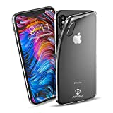 PORTHOLIC iPhone X Hülle, Ultra Clear Hybrid Bumper Phone Hülle für iPhone X/iPhone 10 [Anti...