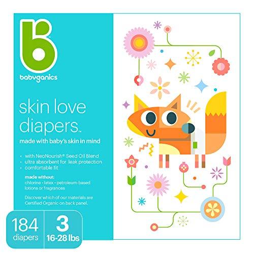 Babyganics Ultra Absorbent Baby Diapers