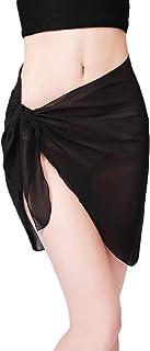 CHIC DIARY パレオ 三角 シフォンパレオ ビーチウエア 体型カバー ショール ビキニカバー スカート ストール ビーチドレス 日焼け止め セクシー