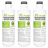 LT1000P, ADQ747935 Water Filters Compatible with LG Refrigerator, 3-Pack