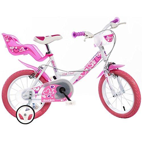 Dino Bikes - 164 RN - Vélo pour Fille 16 de 6 à 8 Ans