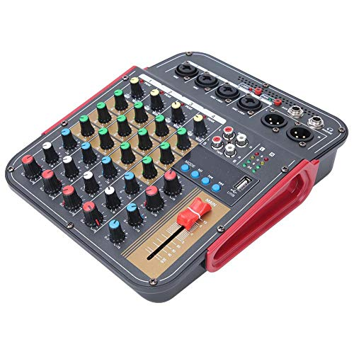 Mixer per controller console a 4 canali, Mixer portatile a 4 canali Audio Console audio Sistema console Mixer stereo professionale 100~240 V per la re