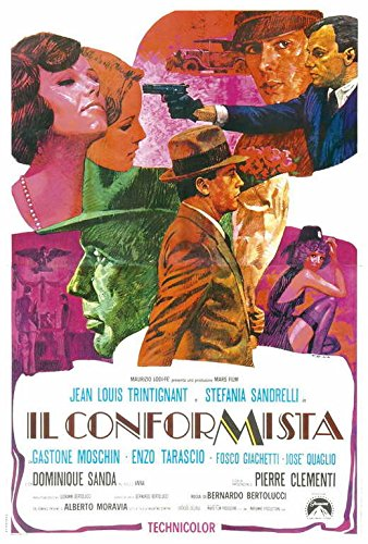 The Conformist POSTER Movie (27 x 40 Inches - 69cm x 102cm) (1970) (Italian Style A)