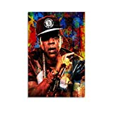 SHEFEI Jay Z. Poster Decorative Painting Canvas Wall Art Living Room Posters Bedroom Painting 12x18inch(30x45cm)