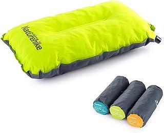 NatureHike 自動インフレーターピロー 超軽量インフレータブル 枕 トラベルアウトドア枕 キャンプ用品 収納袋付き