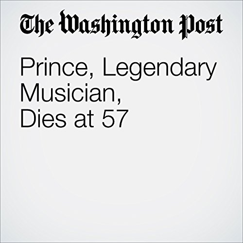 Prince, Legendary Musician, Dies at 57 audiobook cover art