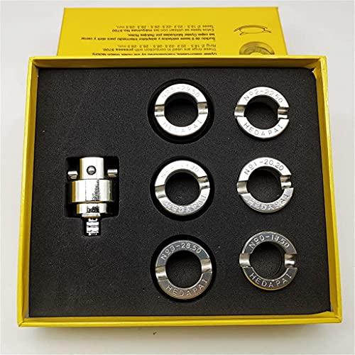 Herramienta de Reloj Kit de Herramientas de reparación de Relojes Soporte de Movimiento Profesional Abridor de Caja Trasera de Reloj