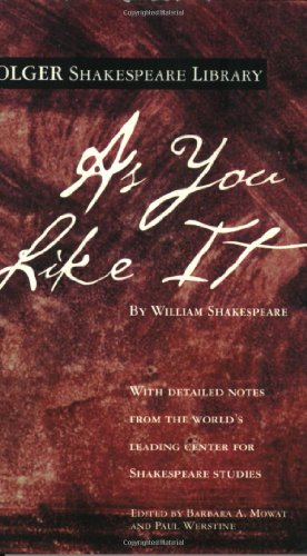 As You Like It (Folger Shakespeare...