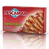 Pescamar Sardinillas En Tomate Picante De Salsa En Lata 81 G 81 g...