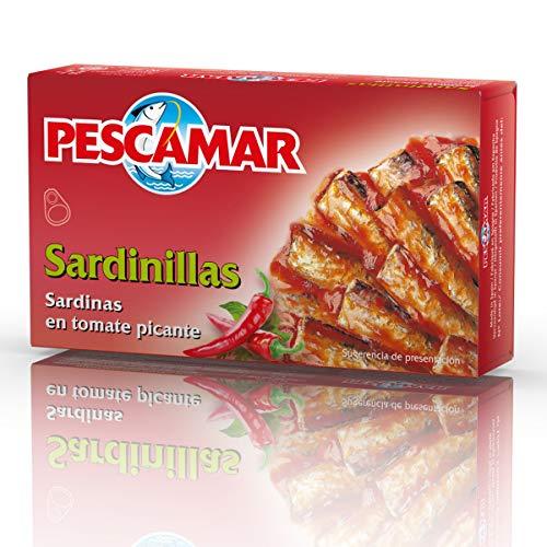 Pescamar Sardinillas En Tomate Picante De Salsa En Lata 81 G 81 g