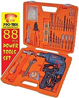 Pro-tech 88 Pieces Power Tools Set - PTLS88