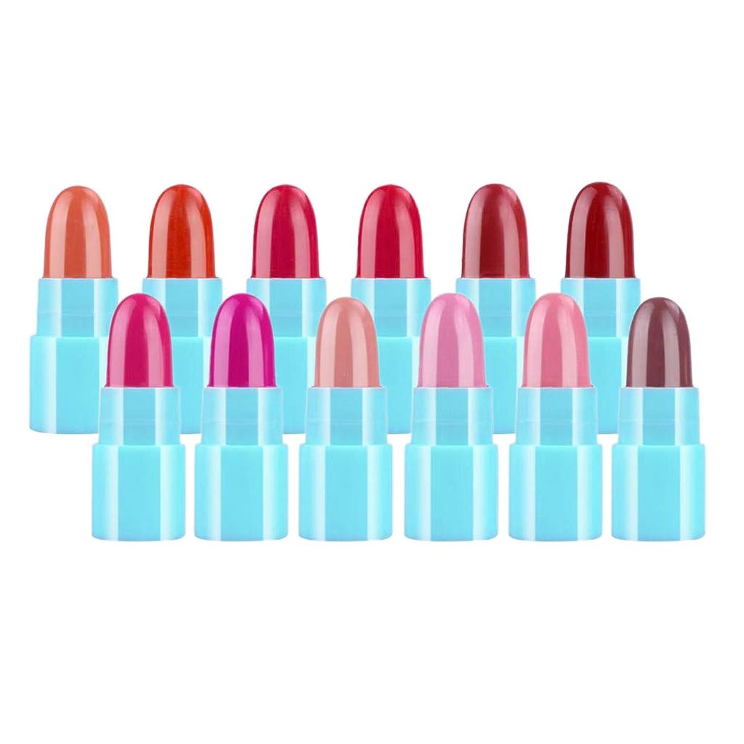 引数量で後者Sharplace 口紅 リップグロス 唇メイク ミニサイズ リップスティック リップライナー メイク 道具 12色