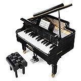 Compatible con Lego Xinyu Piano Assembly Blocks Bluetooth Play Piano Dreamer Puede Jugar Pequeños Juguetes De Partículas