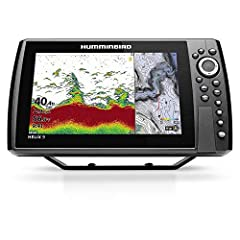 Get clear, sharp underwater views to help you find fishing hotspots with the HELIX 10 G3N, featuring Dual Spectrum CHIRP sonar, which identifies well-defined fish arches and provides clear views of both fish-holding structure and the bottom. Humminbi...
