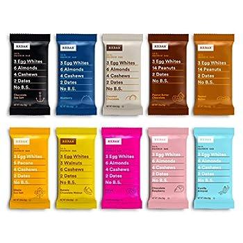 RXBAR Best Seller Variety Pack Protein Bar Gluten Free 1.83 Ounce  Pack Of 30