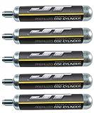 JT 90g CO2 Cartidges (88g Crosman AirSource cylinders compatible) (5 Cartridges)