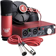 Focusrite Scarlett Studio - Complete Professional Recording Package for Musicians