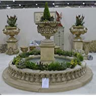 2 7m Ragley Fountain with centrepiece