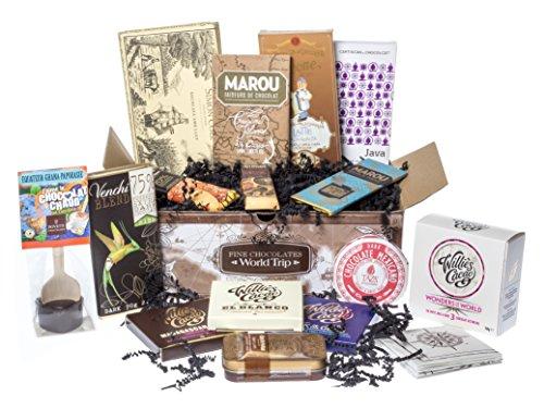 World Trip - Selezione di pregiato cioccolato dal mondo