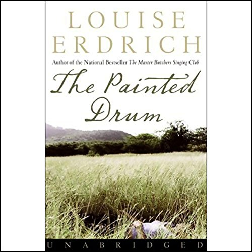 The Painted Drum audiobook cover art