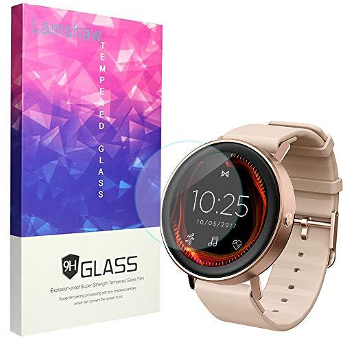 Misfit Vapor Screen Protector, Lamshaw 9H Tempered Glass Screen Protector for Misfit Wearables Fitness Tracker (3 Pack)