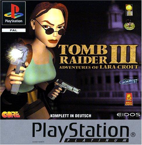 Tomb Raider 3 - Adventures of Lara Croft - Platinum