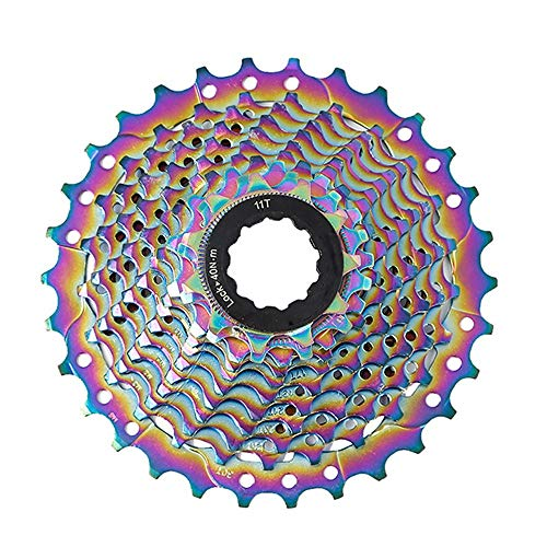 OULATUWB Color Bicycle Freewheel 11S-30T Speed Cassette Gear MTB Road Bike Flywheel