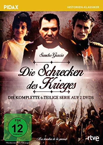 Die Schrecken des Krieges (Los desastres de la guerra) / Die komplette 6-teilige Serie (Pidax Historien-Klassiker) [2 DVDs]