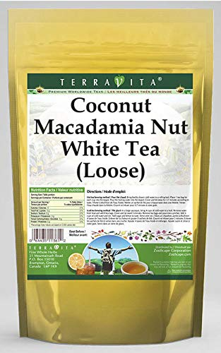 Coconut Macadamia Nut Outstanding White Tea 534462 ZIN: Free shipping on posting reviews oz Loose 8