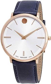 Movado Ultra Slim White Dial Men's Watch