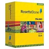 Rosetta Stone Italian Level 1 & 2 Set with Audio Companion Homeschool Edition, Version 3