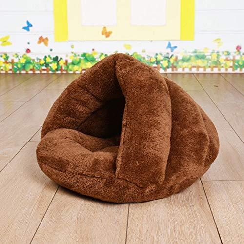 Unbekannt Warm atmungsaktiv Eindickung Katzentoilette Hund Mat großen Hund Haustier-Nest abnehmbar und waschbar Kennel Haustier-Zelt mit Kissen, for Katzen Schlaf- und Ruhe Bettwäsche