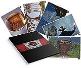 FaNaTtik Jurassic Park Lithograph Lot de 5 posters du Monde de l'Angleterre 35 x 28 cm