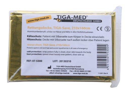 Rettungsdecke Rettungsdecken 10er Set (= 10 Stück) gold/silber 210x160cm Rettungsfolie für Erste Hilfe Notfall Deko Tischdecke