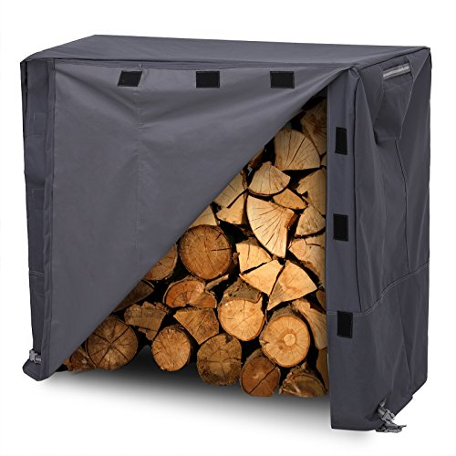 Our #2 Pick is the SONGMICS Heavy Duty Log Rack Cover