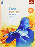 Flute Exam Pack 2018-2021, ABRSM Grade 4: Selected from the 2018-2021 syllabus. Score & Part, Audio Downloads, Scales & Sight-Reading (ABRSM Exam Pieces)