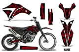 Savage Kits MX Dirt Bike Graphics kit Sticker Decal Compatible with Apollo Orion 250RX All Years - Havoc Red